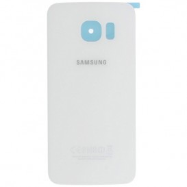 Samsung SM-G925F Galaxy S6 Edge Battery Cover Originale Bianco