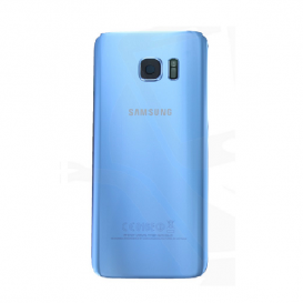 Samsung SM-G955 Galaxy S7 edge Battery Cover Originale Blu
