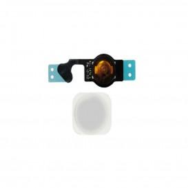 Home button compatibile per iPhone 5G argento
