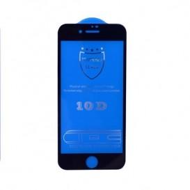 Pellicola vetro 10D iPhone SE 2020 nera