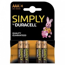 Duracell Simply Ministilo AAA 4 pz.