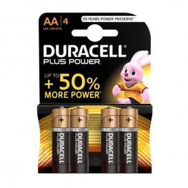 Duracell Plus Power AA 4 pz.