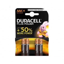 Duracell Plus Power Ministilo AAA 4 pz.