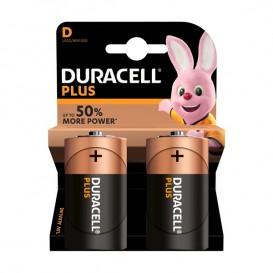 Duracell Plus Power D 2 pz.