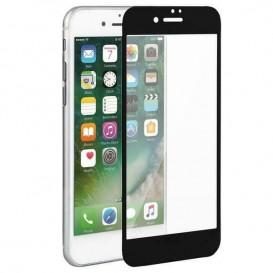 Pellicola 10D per iPhone 6 plus / 6s plus vetro temperato nera
