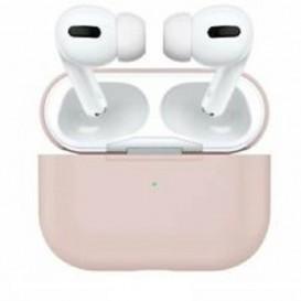Custodia in Silicone per Airpods Pro colore Rosa Sabbia
