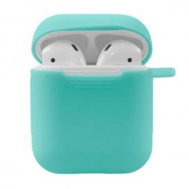 Custodia Silicone Airpods colore Tiffany