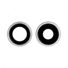 Anello Camera Posteriore + Vetrino iPhone 11 Bianco