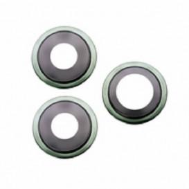 Anello Camera Posteriore + Vetrino iPhone 11 Pro 11 Pro Max Verde