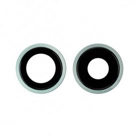 Anello Camera Posteriore + Vetrino iPhone 11 Verde