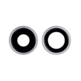 Anello Camera Posteriore + Vetrino iPhone 11 Viola