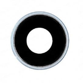 Anello Camera Posteriore + Vetrino iPhone XR Oro
