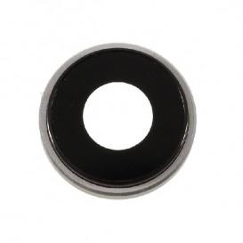 Anello Camera Posteriore + Vetrino iPhone XR Grigio