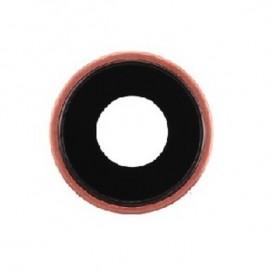Anello Camera Posteriore + Vetrino iPhone XR Rosa