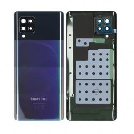 Samsung SM-A426F Galaxy A42 5G Battery Cover Originale Nero