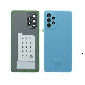 Samsung SM-A525F Galaxy A52 Battery Cover Originale Blu