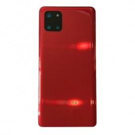 Cover batteria Note 10 Lite Rosso