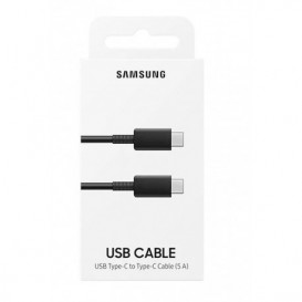 Cavo USB Samsung nero Type-C a Type-C (5A)