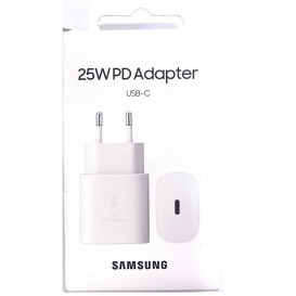 Caricabatterie Samsung Super FAST 25W type C bianco