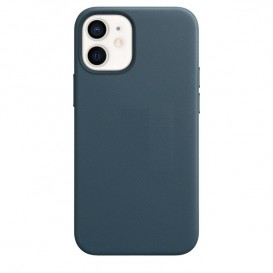 Custodia Silicone iPhone 12 mini Blu