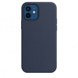 Custodia Silicone iPhone 12 / 12 Pro Blu