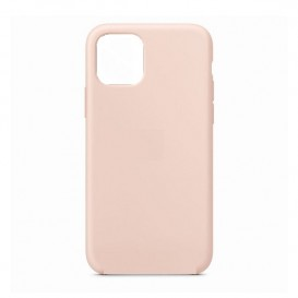 Custodia Silicone iPhone 12 mini Rosa Sabbia