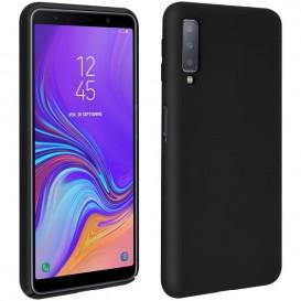 Custodia in Silicone per Samsung A7 2018 colore Nero