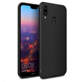 Custodia Silicone Huawei P20 Lite Nera