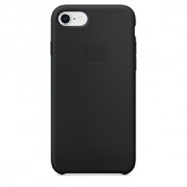 Custodia Silicone iPhone 7 / 8 / SE 2020 Nera