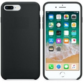 Custodia Silicone iPhone 7 Plus / 8 Plus Nera