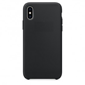 Custodia Silicone iPhone X / XS Nera