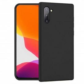 Custodia Silicone Samsung Note 10 Nera