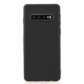 Custodia Silicone Samsung S10 Nera