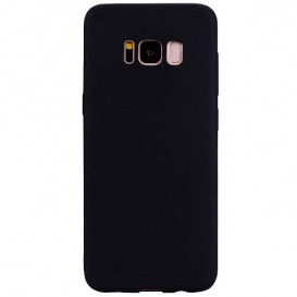 Custodia Silicone Samsung S8 Plus Nera