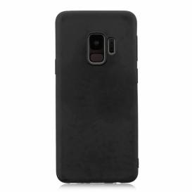 Custodia Silicone Samsung S9 Plus Nera