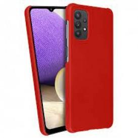 Custodia in Silicone per Samsung A32 5G colore Rosso