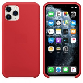 Custodia Silicone iPhone 11 Pro Rossa