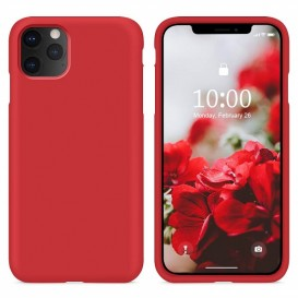 Custodia Silicone iPhone 11 Pro Max Rossa