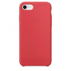 Custodia Silicone iPhone 7 / 8 Rossa