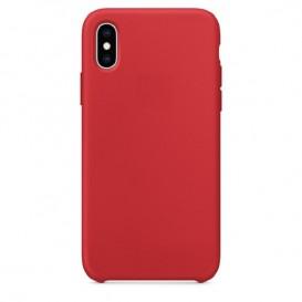 Custodia Silicone iPhone X / XS Rosso