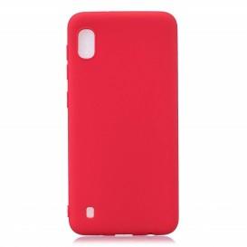 Custodia Silicone Samsung A10 Rossa