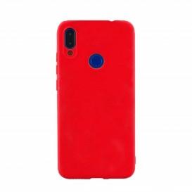 Custodia Silicone Samsung A40 Rossa