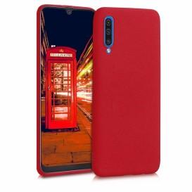 Custodia Silicone Samsung A30s Rossa