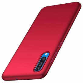 Custodia Silicone Samsung A50 Rossa