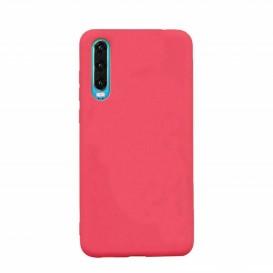 Custodia Silicone Samsung A70 Rossa
