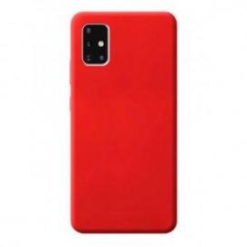 Custodia Silicone Samsung A51 Rossa