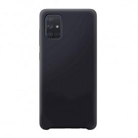 Custodia Silicone Samsung A71 Nera