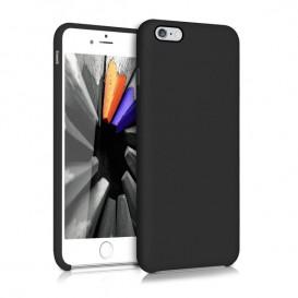 Custodia Silicone iPhone 6 Plus / 6S Plus colore Nero