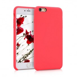Custodia Silicone iPhone 6 Plus / 6S Plus Rossa
