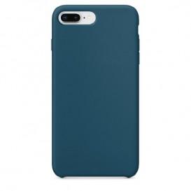 Custodia Silicone iPhone 7 / 8 / SE 2020 Blu Notte